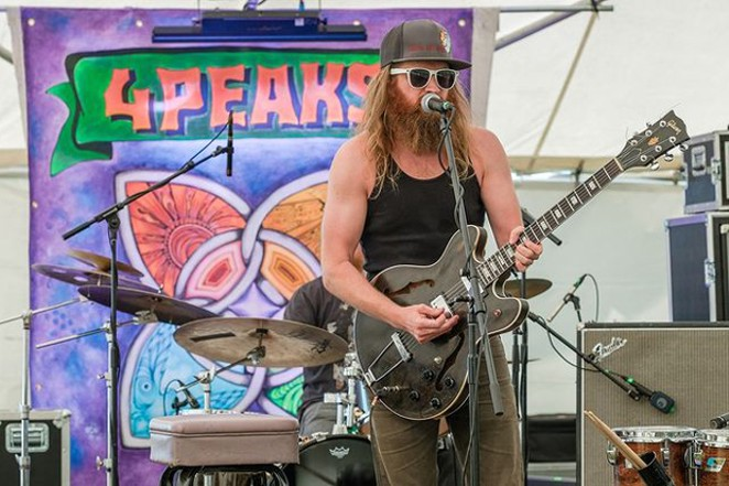 Scott Pemberton performs during a former 4 Peaks festival. You can cath him at this year's mini festival as well! - COURTESY 4 PEAKS