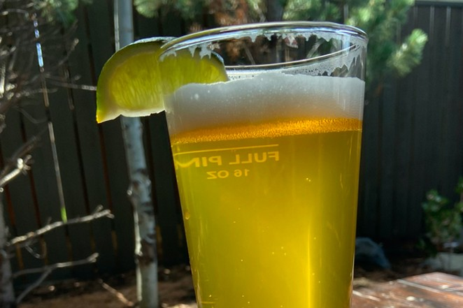 A glass of Deseo Latin Lager at Sunriver's Galveston Pub. - BRIAN YAEGER