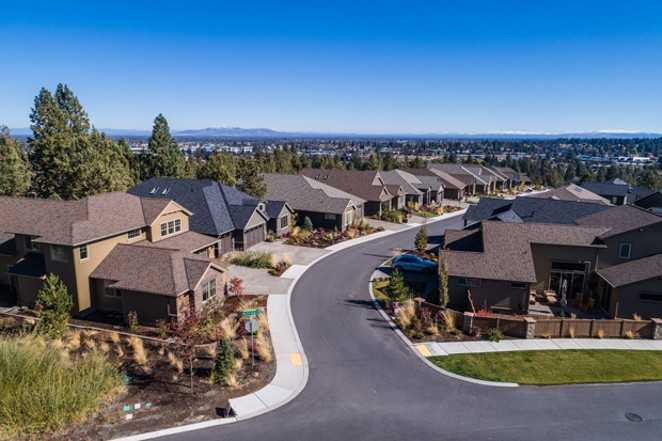Many houses surrounding River's Edge Golf Course have built by Pahlisch Homes for the past decade. On Tuesday, April 28 it was announced the entire course would be sold to Pahlisch. - COURTESY RIVER'S EDGE GOLF COURSE.