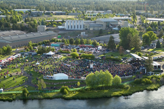 A new stage setup and a partnership with Live Nation mean Les Schwab Amphitheater is leveling up this year. - COURTESY LES SCHWAB AMPHITHEATER