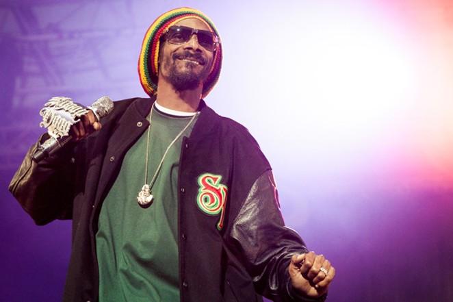 Snoop Dogg performing at Hove Festival in 2012. - JØRUND FØRELAND PEDERSEN / WIKIMEDIA COMMONS