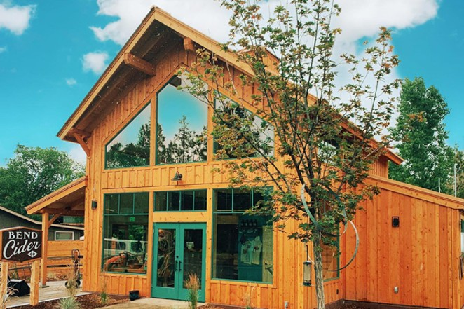 The New Bend Cider taproom is home to not-sweet ciders and a few cider guest taps. - COURTESY BEND CIDER CO.