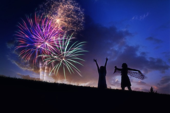 On this Fourth of July, celbrate safely without personal fireworks. - JILL WELLINGTON / PIXABAY