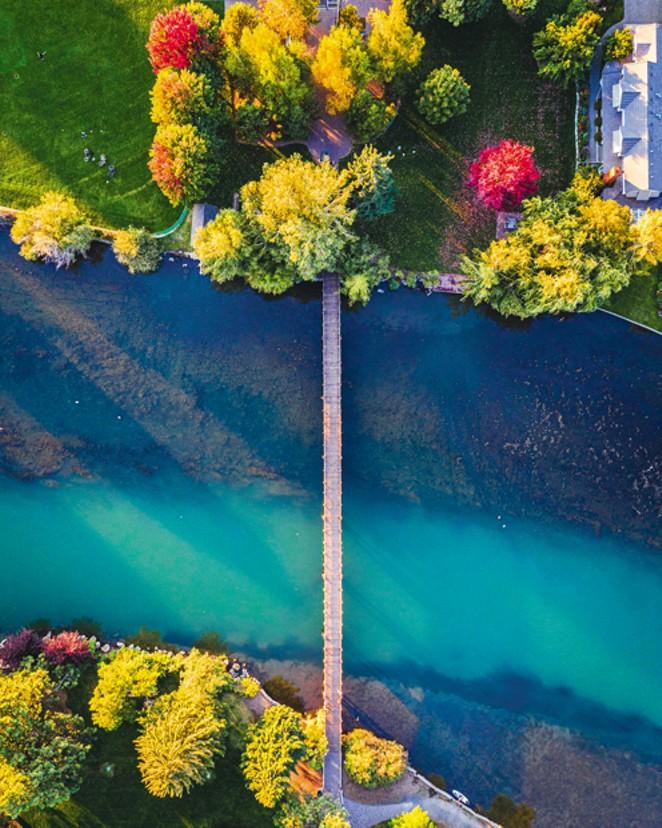 Springtime on the river - JUSTIN HARTLEY