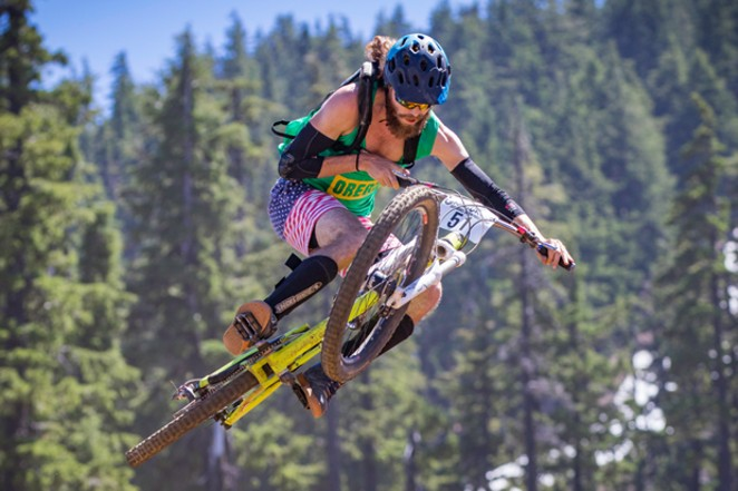Who needs skis? Fly down and around the mountain on your bike this summer with two racing events. - COURTESY MT. BACHELOR