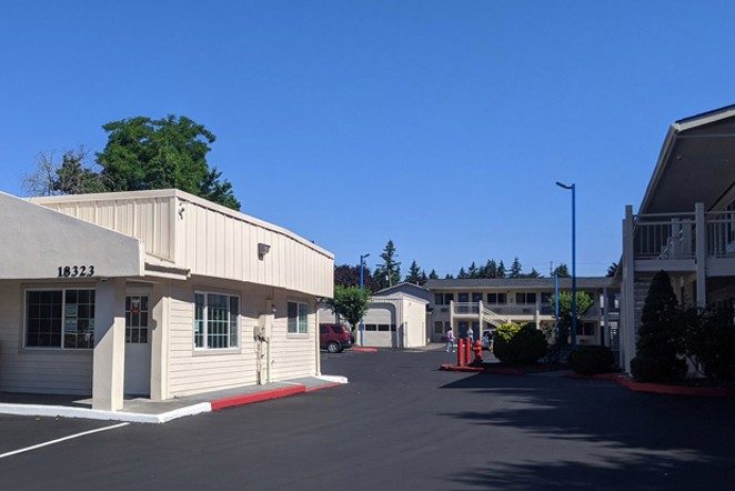 The Bend Value Inn will have 28 rooms to provide transitional shelter for unhoused people. - OREGON COMMUNITY FOUNDATION