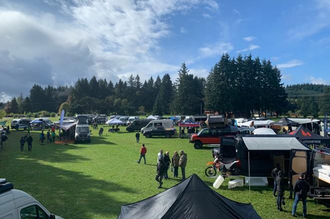 The Adventure Van Expo Series returns to Redmond Labor Day weekend. - COURTESY ADVENTURE VAN EXPO