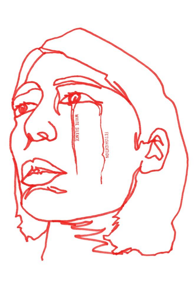 """Exotic Eyes"" by Taemi Izumi, featured in the Complex(ion) zine. - COURTESY SCALEHOUSE/TAEMI IZUMI"