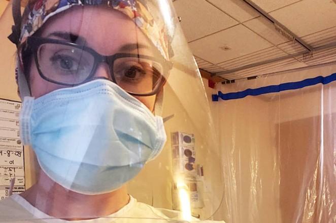 Christina McKeown, nurse. - COURTESY CHRISTINA MCKEOWN