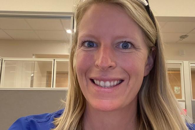 Alison Fountain, urgent care nurse. - COURTESY ALISON FOUNTAIN