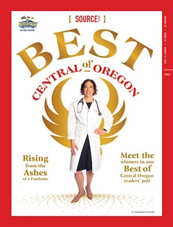 The 2021 Best of Central Oregon cover, featuring Dr. Jessica Morgan of Praxis Health - PHOTO BY MEGAN BAKER