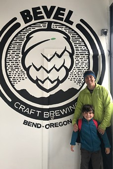 Bevel Craft Brewing is a fun disc golf themed brewery in southeast Bend. - BRIAN YEAGER