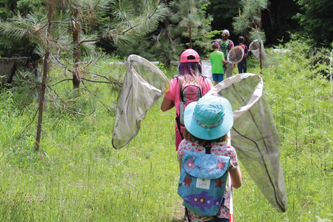 Who's up for a nature walk? Join Deschutes Land Trust September 18 at the Metolius Reserve. - COURTESY OF DESCHUTES LAND TRUST