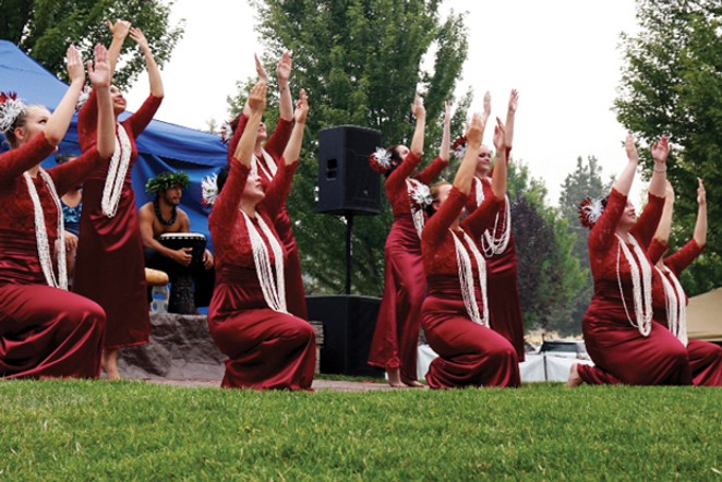 Experience the beauty of traditional Hawaiian dancing at Sam Johnson Park in Redmond September 8. - COURTESY REDMOND CHAMBER
