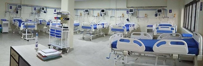 Available intensive care unit hospital beds shrank to its lowest number since the COVID-19 pandemic began amid a current surge of delta variant cases. - CHUREHIL VIA WIKIMEDIA