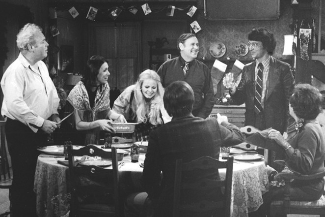 """Renny Temple (standing, right) in a scene from """"All in the Family."""" - SUBMITTED"""