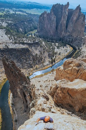 Smith Rock represents the birthplace of sport climbing in the USA. - JANNELLE DRANSFIELD