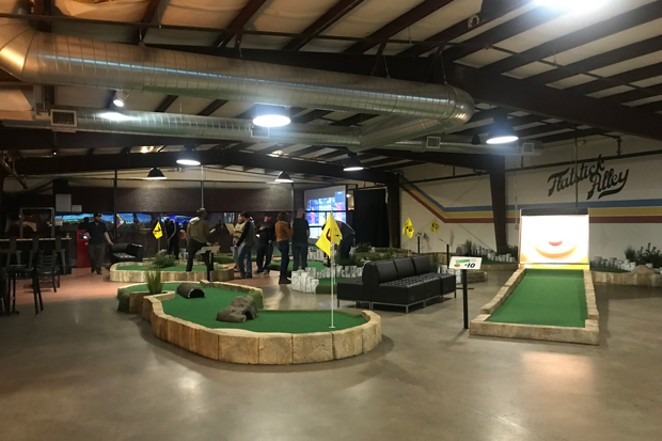 Indoor mini golf is one of the entertainment options at the new Walt Reilly's. - COURTESY WALT REILLY'S