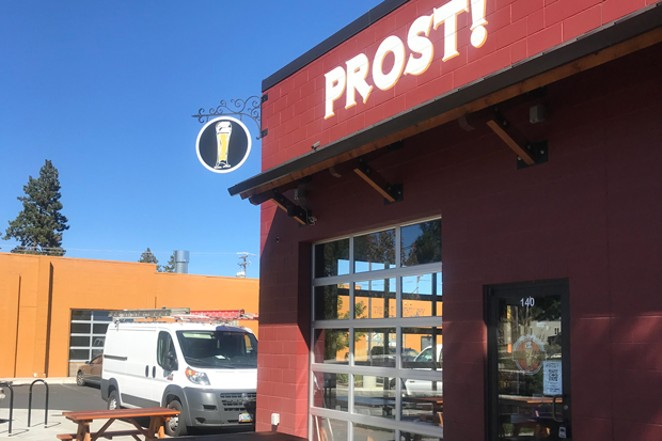 Prost! Bend is the new neighborhood German pub on Century Drive. - COURTESY PROST