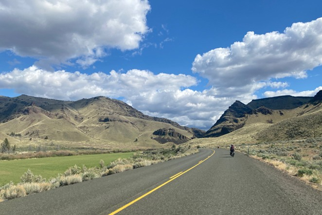 Bike touring allows one to explore open spaces and take in the wonders of the natural world at a slower pace... which may add to one's appreciation and concern for protecting it. - NICOLE VULCAN