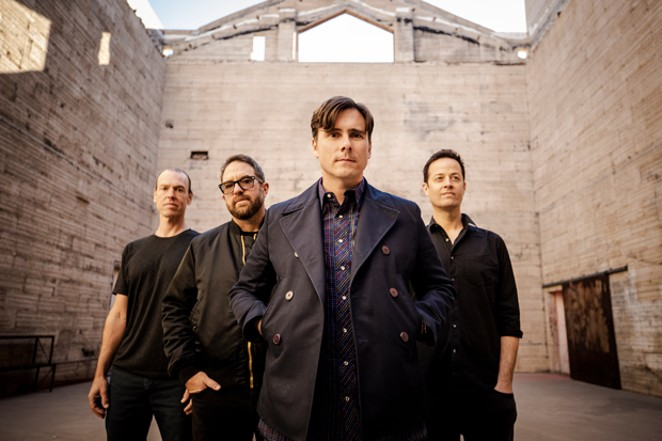 Everything, everything will be just fine. Jimmy Eat World is enjoying the middle of the ride. - STEVE THRASHER