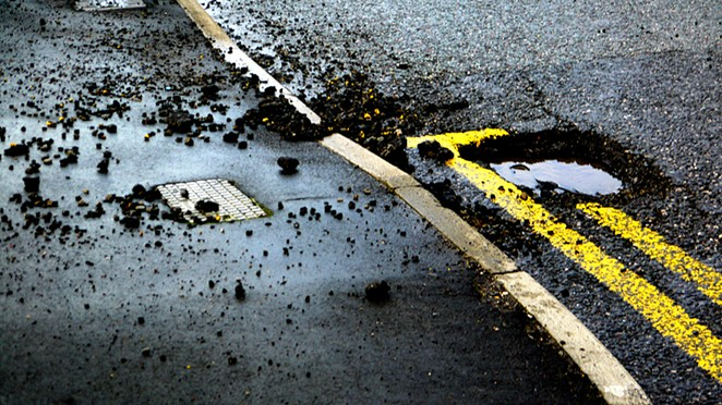 The city has increased funding by 2.5 million for street maintenance. Repaving efforts begin July 5 - _CHRISUK, PHOTO COURTESY OF FLICKR