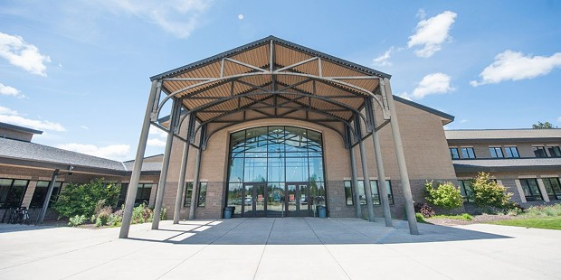 Summit High School was brand-spanking new in the early 2000s - BEND-LA PINE SCHOOL DISTRICT