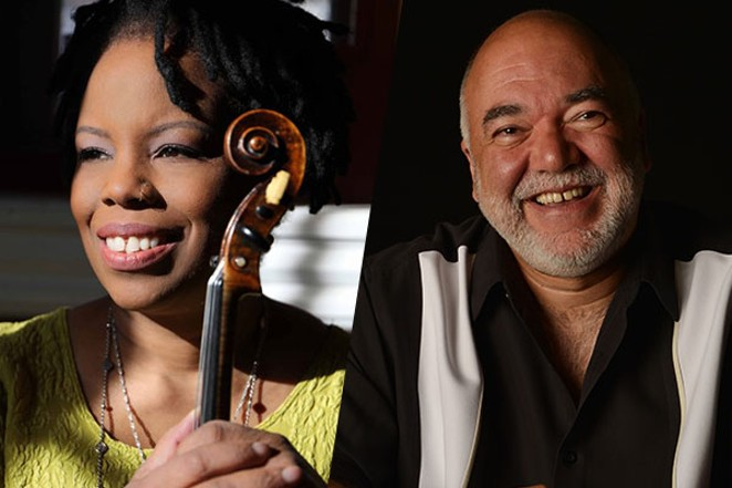 Regina Carter performs as part of the Riverhouse Jazz series - on 2/16 and 2/17/2018 while Drummer Peter Erskine brings - his new trio to the Oxford Hotel as part of the Jazz at the Oxford series on 11/17 and 11/18. - ROB SHANAHAN