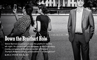 A NEW YORK TIMES MAGAZINE STORY WENT DOWN THE BRIETBART HOLE EARLIER THIS YEAR