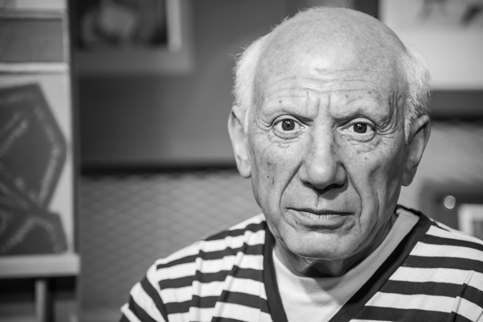 A famous scorpio, the painter, Pablo Picasso, born October 25, 1881. - WIKIPEDIA