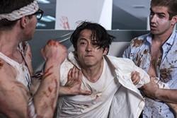 """Mayhem"""" follows Steven Yeun, Glenn from """"The Walking Dead."""" - RLJE FILMS"""