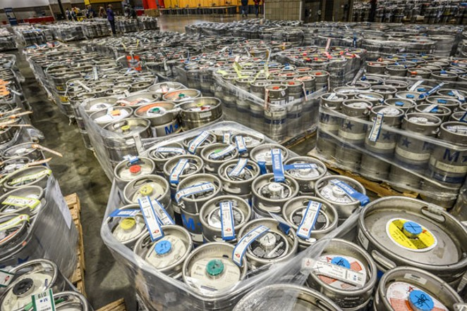 So. Much. Beer. - PHOTO © BREWERS ASSOCIATION.