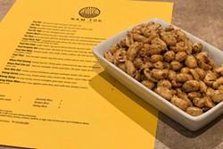 Above, crispy peanuts are salt-tastic while below, Tom Kha Gai gives a pleasant sweet and sour kick. - LISA SIPE