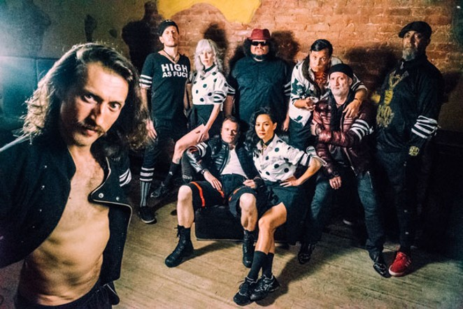 Gogol Bordello brings their gypsy-punk sounds to the Midtown Ballroom on 2/23. - DAN EFRAM