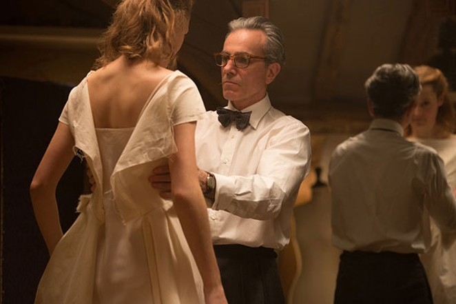"Daniel Day-Lewis finds his muse in ""Phantom Thread."" - LAURIE SPARHAM"