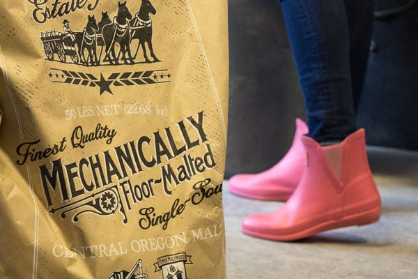 These boots are made for brewing—a special recipe. - KEELY DAMARA