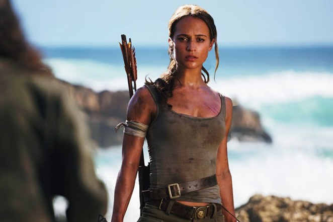Alicia Vikander as Lara Croft...ready to raid some tombs. - FILM TV