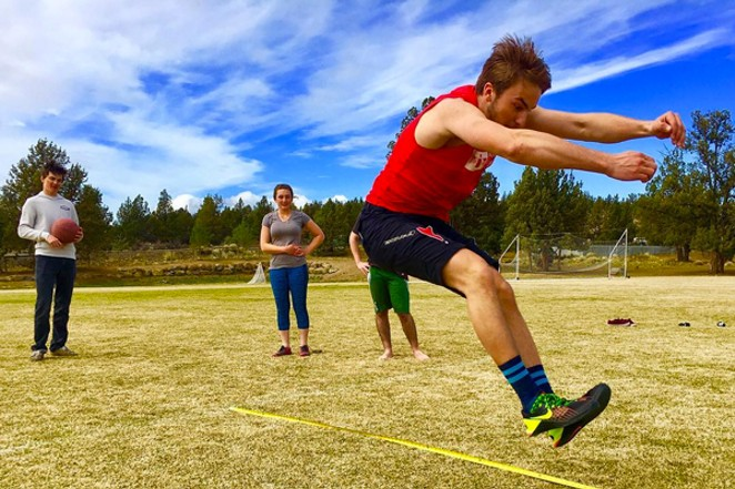 It was an active Sunday here in Bend! @trx_bendfitness shows off their student athletes from Cascades Academy getting busy! Tag @sourceweekly to show up here. - SUBMITTED