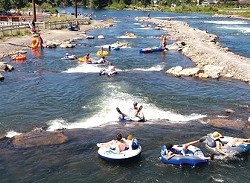 Bend Park and Recreation District's whitewater park in the summer. - ERIK ELLINGSON