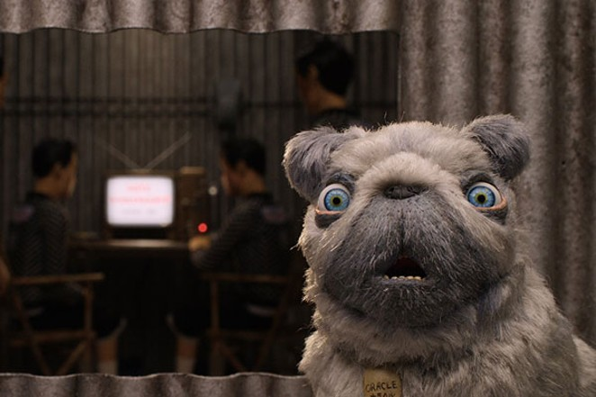 """Behold The Oracle, voiced by Tilda Swinton, in """"Isle of Dogs."""" - FOX SEARCHLIGHT"""