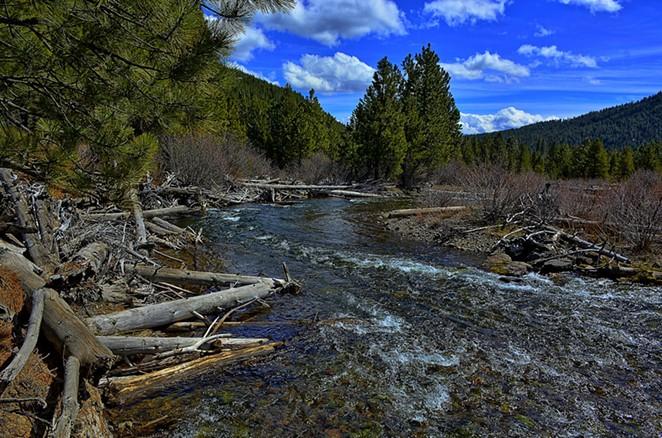 Tumalo Creek - FLICKR