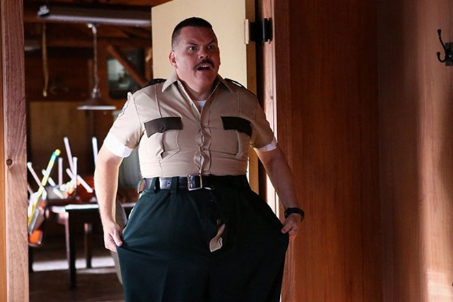 Oh, look, a fat guy in big pants. Whatever will they think of next?? - JOSH PACK