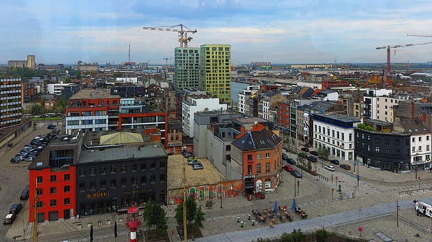 Antwerp, Belgium's Docklands Urban Renewal project. - WIKIMEDIA