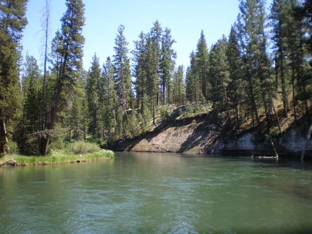 The Deschutes River runs through La Pine State Park in Central Oregon. - ANOTHER BELIEVER