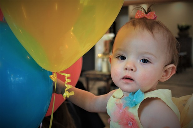 The most popular girl name in the U.S., and in Oregon, was Emma in 2017—but this local baby is named Novalie. - DANIELLE MEYERS