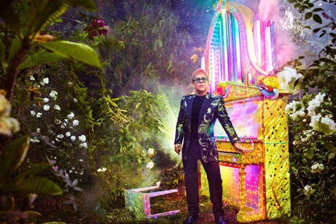 Elton John is one of many longtime musicians calling it quits following his current tour. - TRAVIS SHINN