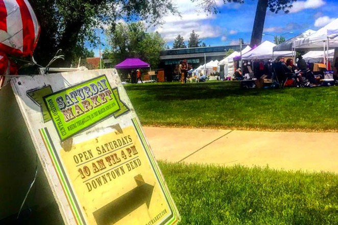 Saturday Market is open! Follow@central_oregon_saturday_market for updates! And while you're at it...tag @sourceweekly and show up here in Lightmeter! - SUBMITTED