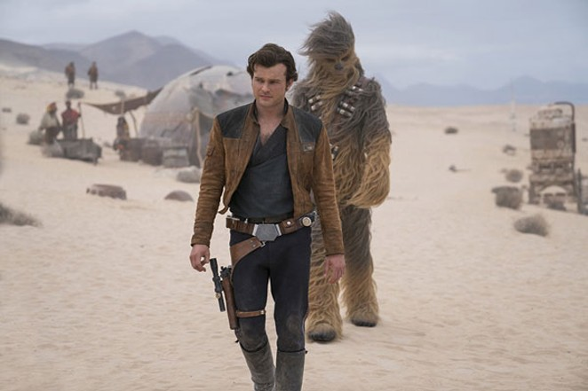 A love lasting decades: The Han and Chewie Story. - JONATHAN OLLEY