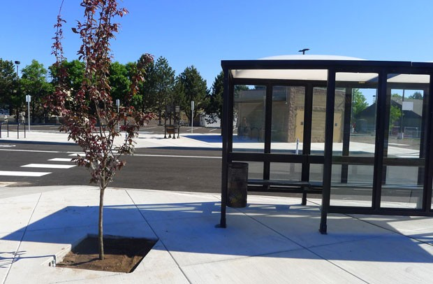 The new Redmond Transit Hub. - SUBMITTED