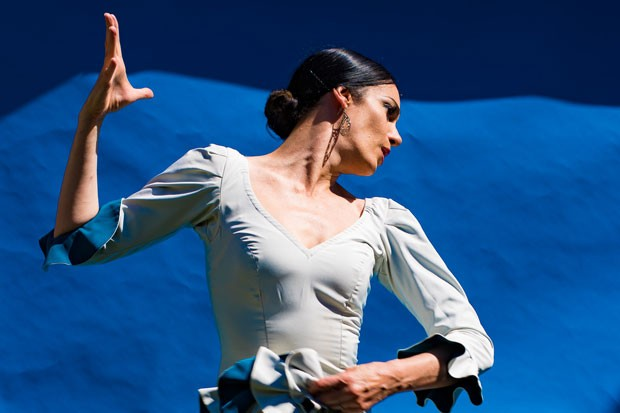 """Flamenco Fuentes"" - Savannah Fuentes of ""Féria,"" performs at the Capitol Sunday. - TITO FUENTES"